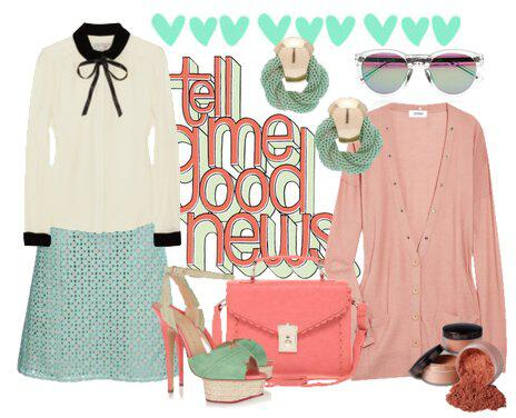 Look of the day 01 - Look of the day with pastel colors!