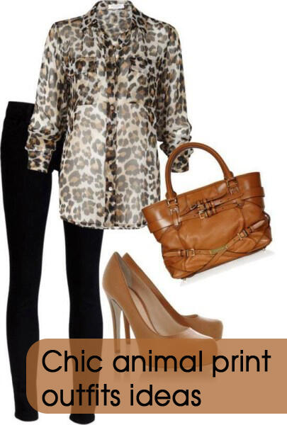 chic animal print outfit ideas1 - Chic animal print outfits