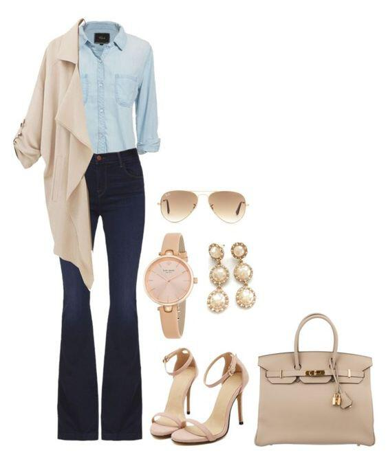 8932fc08dc90 9 chic office outfit options that are not black or grey - Page 5 of ...