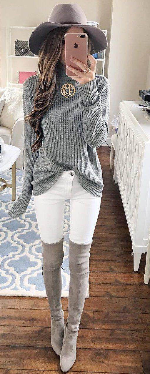 How to Style White Jeans for Fall - A Summer to Fall