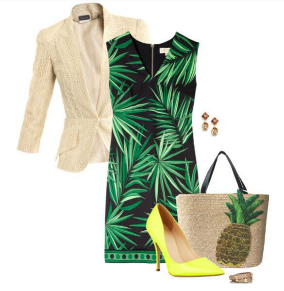 11 - How to wear tropical prints