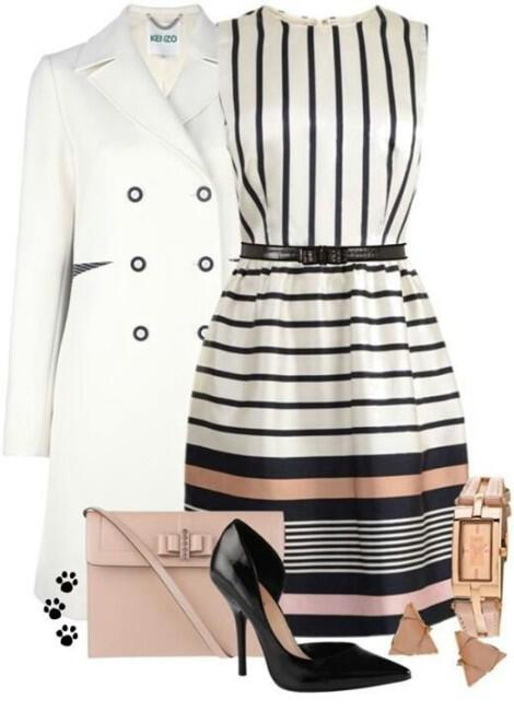 how to wear stripes2 - 6 stylish ways to wear stripes this spring
