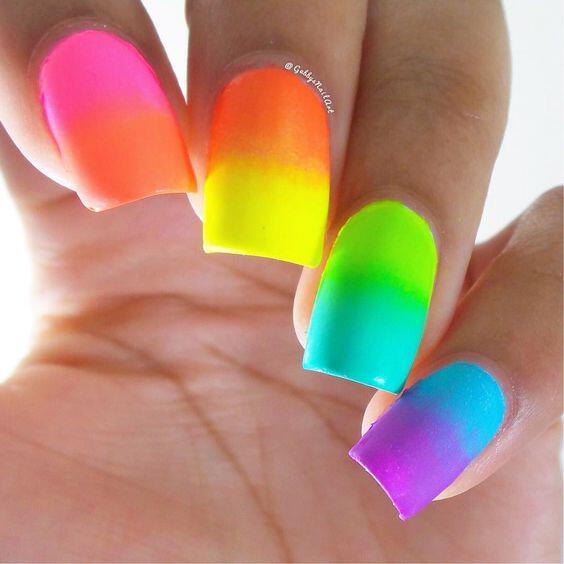 21 Beautiful Neon Nails To Try Stylishwomenoutfits Com