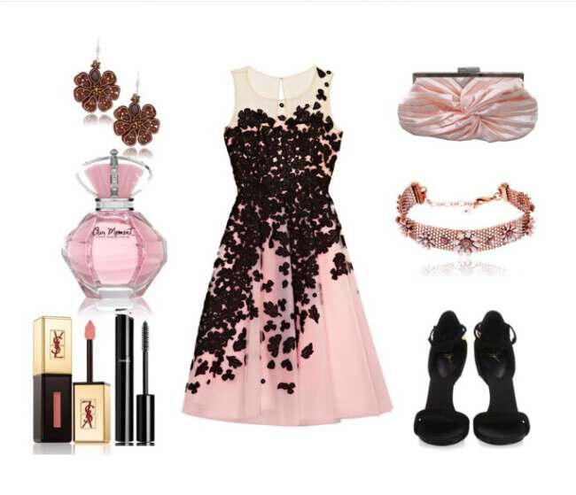 Clip - Romantic outfit for an evening out