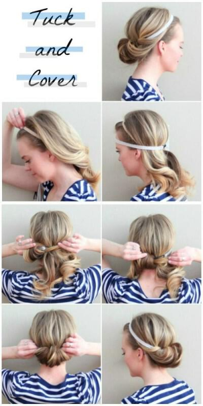 5 minute hairstyle step by step guide 2 - 5 minute hairstyle step by step guide