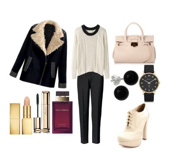 Casual and chic outfit with Jimmy Choo bag - Casual and chic outfit with Jimmy Choo bag