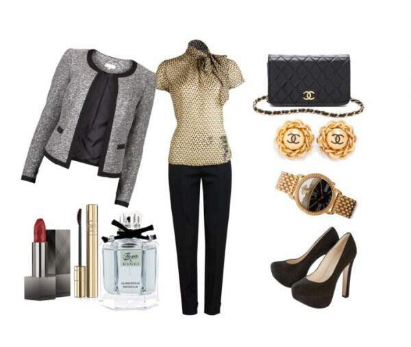 Chic and classic outfit perfect choice for the office - Chic and classic outfit perfect choice for the office