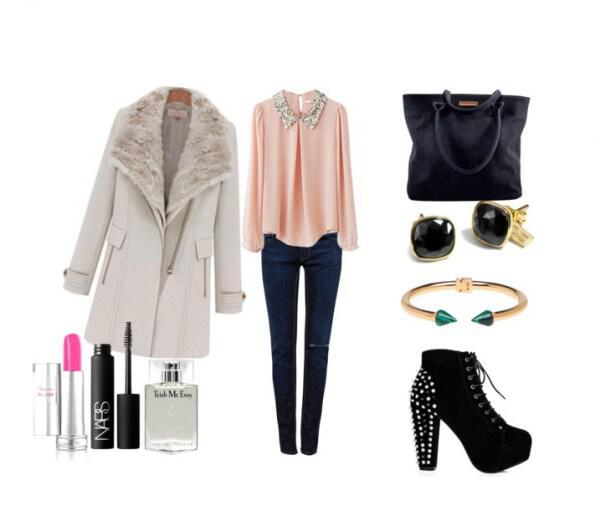 Chic casual outfit perfect choice for morning or afternoon appearance - Chic casual outfit perfect choice for morning or afternoon appearance