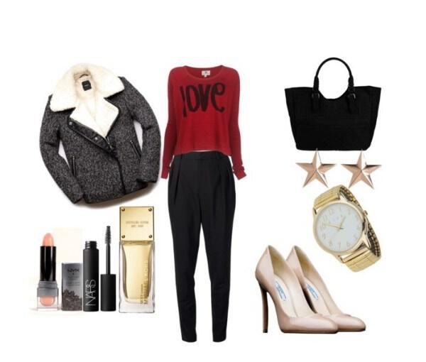 Modern chic and feminine outfit for the office - Modern, chic and feminine outfit for the office