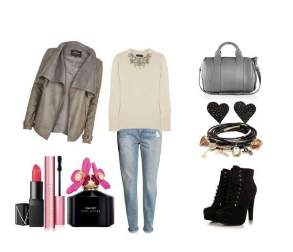 casual feminine outfit - Casual feminine outfit for a stylish morning appearance