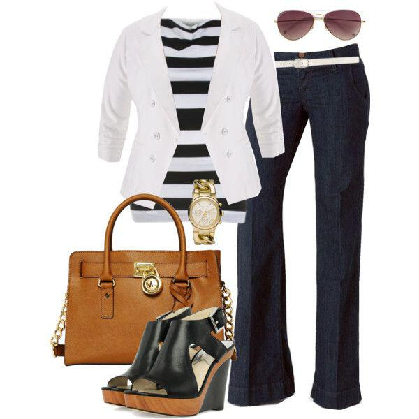 classic striped t shirt outfit idea 9 - 12  inspired combinations to wear the classic striped t-shirt!