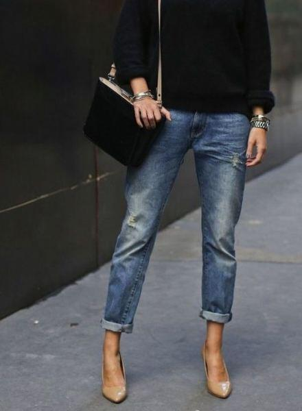 denim cropped pants outfit combinations 1 - 12 denim cropped pants outfit combinations you will love!