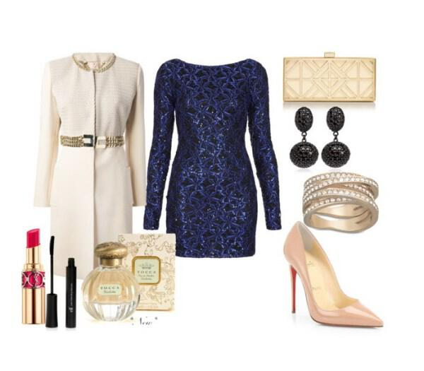 feminine chic outfit great choice for a special night out - Feminine chic outfit great choice for a special night out