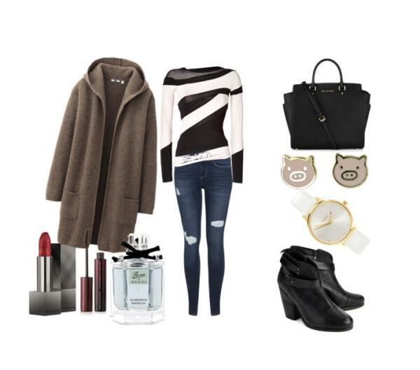 Casual chic outfit great choice for the office