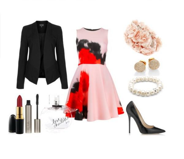 Chic evening outfit great choice for a special event - Chic evening outfit great choice for a special event