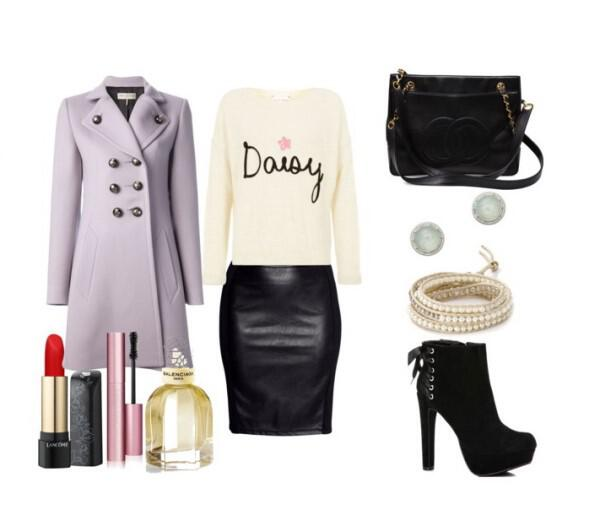 Chic outfit with feminine details - Chic outfit with feminine details, perfect choice for the office