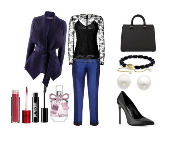 Elegant and sophisticated outfit for an evening event - Elegant and sophisticated outfit for an evening event
