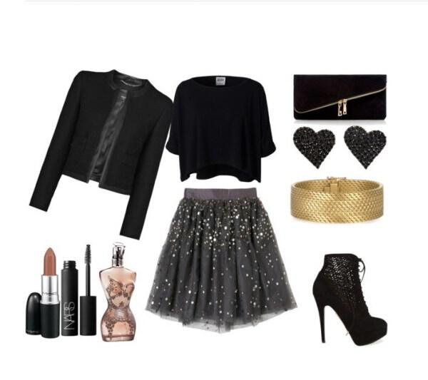 Feminine glam outfit for a special occasion - Feminine glam outfit for a special occasion