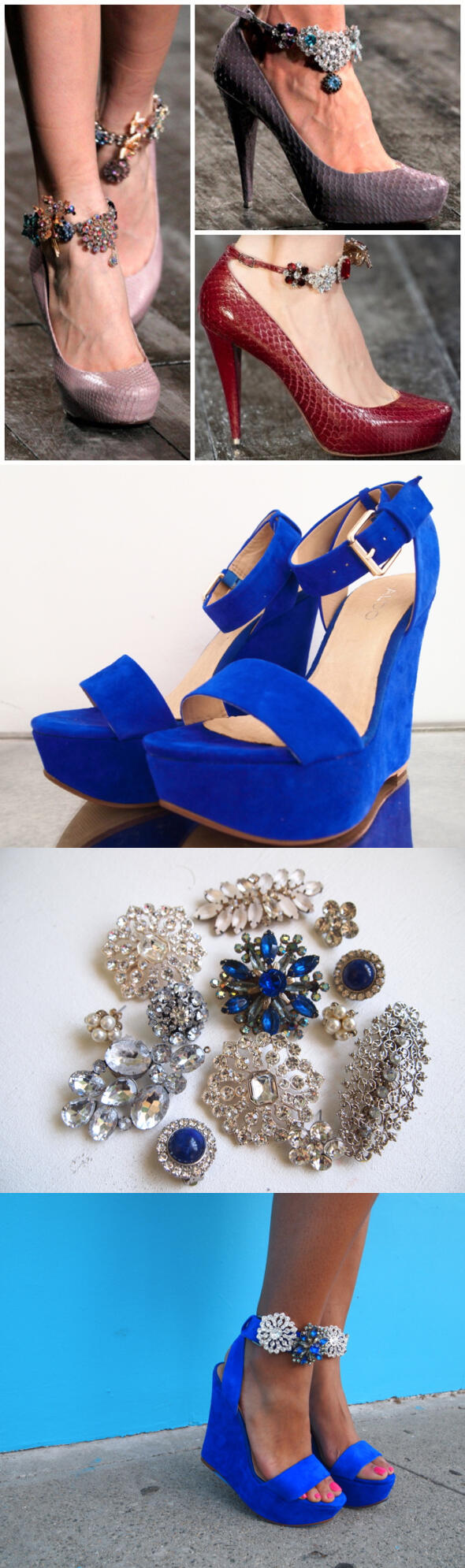 diy shoe revamp idea 2 - 5 easy DIY ideas to revamp your old shoes