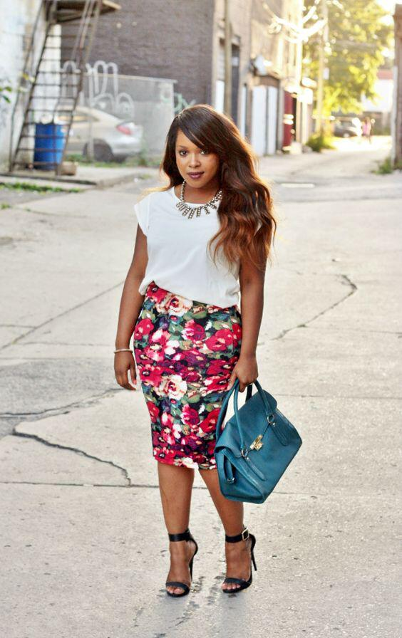 floral skirt spring outfit 3 - 41 spring outfits with floral skirts