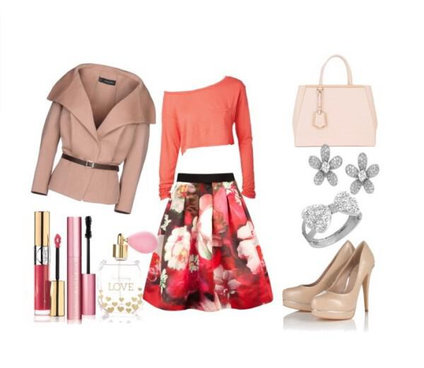 Girly and elegant spring outfit - Girly and elegant spring outfit