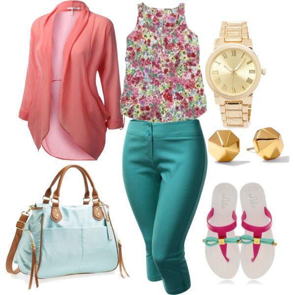 844f63ba628fc9cd3c1f61585c6cdfa0 - 20 plus size floral print summer outfits