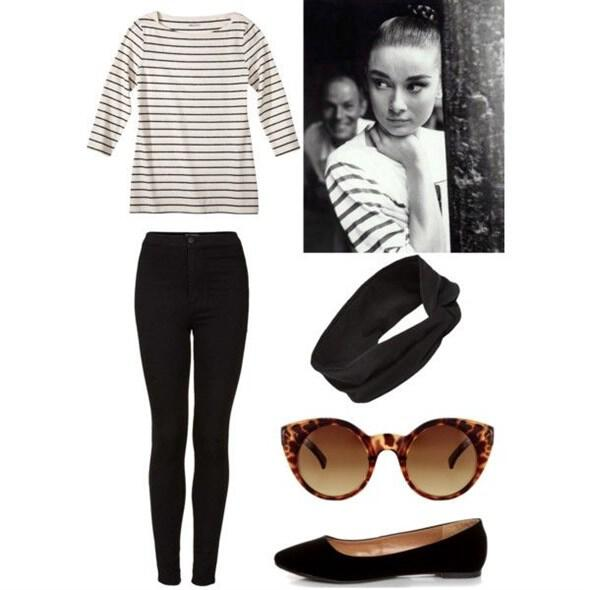 audrey hepburn style inspiration for timeless outfits