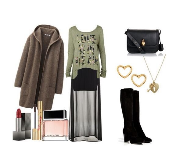 Bohemian outfit with Sergio Rossi boots - Bohemian outfit with Sergio Rossi boots
