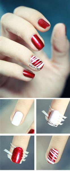 christmas nail ideas 1