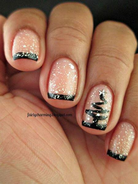 christmas nail ideas 8 - 9 christmas nail ideas