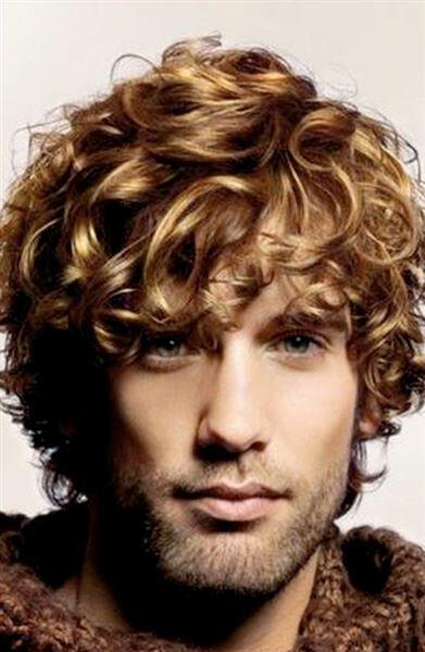 19 hot curly hairstyles for men 7 - 19 hot curly hairstyles for men