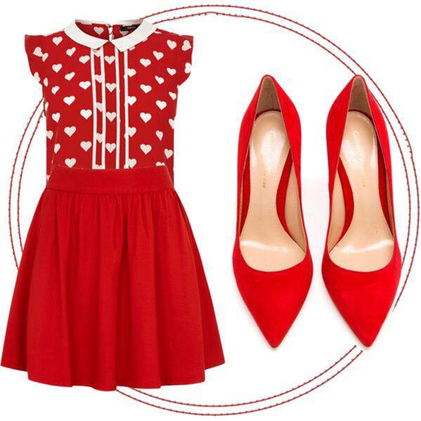 6 Valentines day outfits 1 top many looks 6 - 6 Valentine's day outfits - 1 top many looks