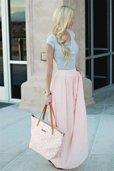 7 powder pink summer outfits 2 - 7 sweet powder pink summer outfits