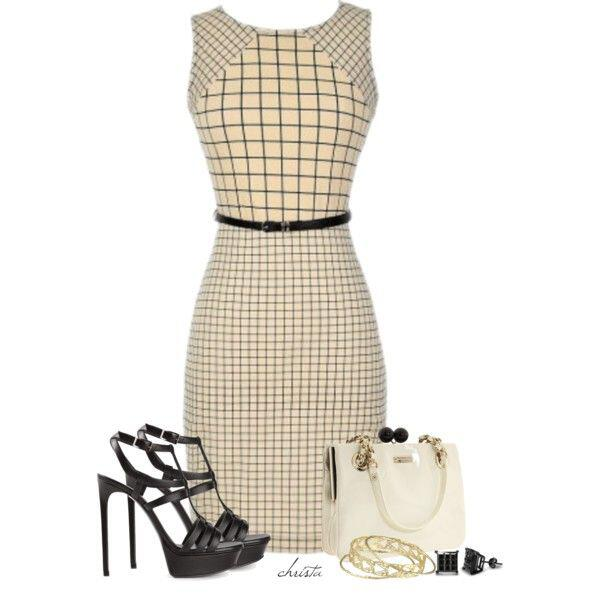 7-chic-office-outfits-dress3