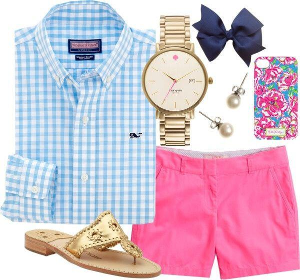 7 cute preppy outfits summer copy2 - 7 cute preppy outfits for summer to copy