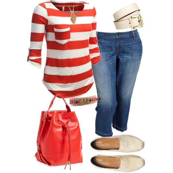 Chic – Casual Outfit With Plus Size Of Jeans