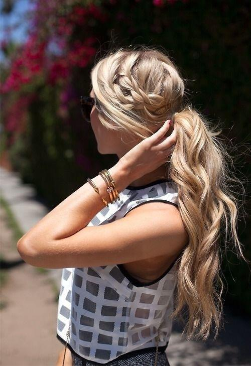 7 easy ponytail hairstyles - 7 easy ponytail hairstyles to try now