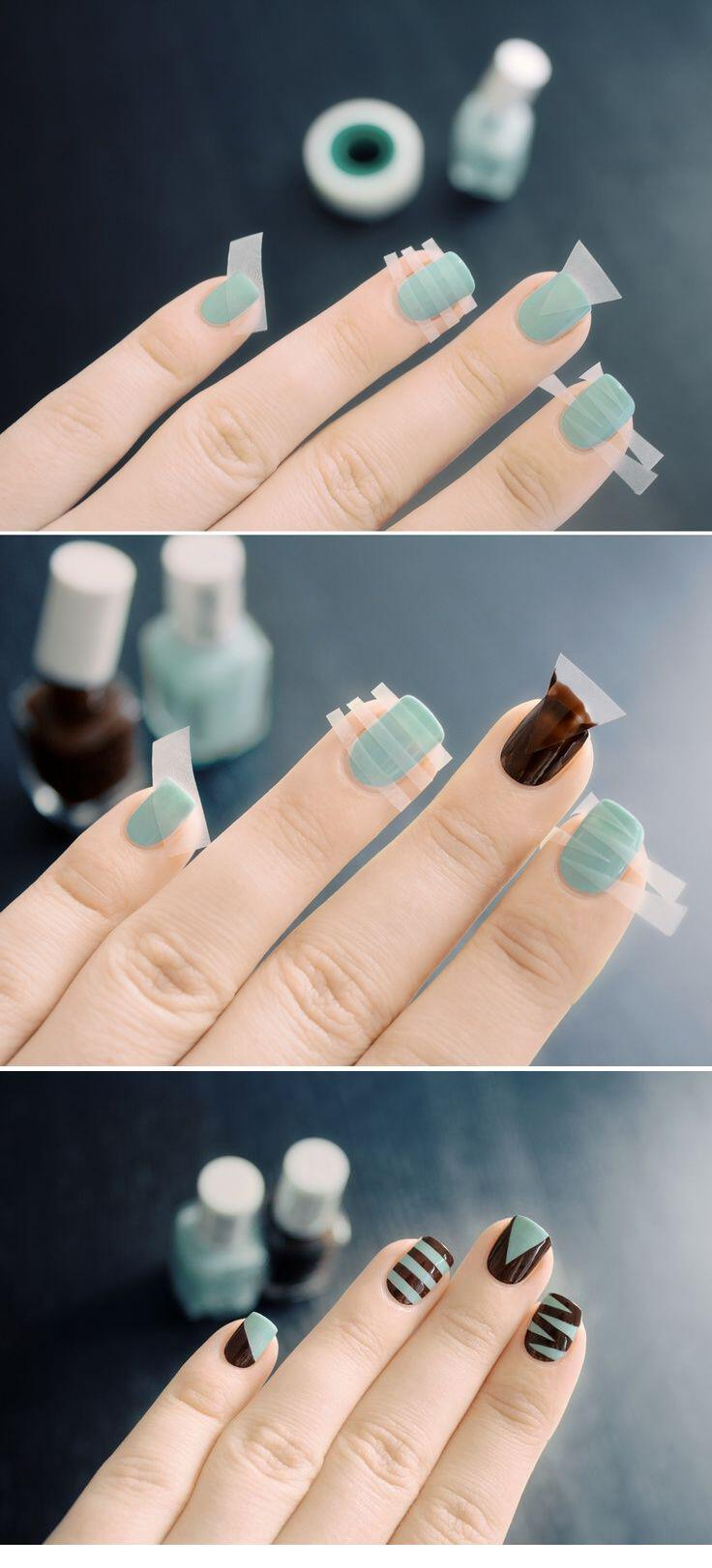 7 cute nail designs tutorials fall7 - 7 cute nail designs tutorials for fall