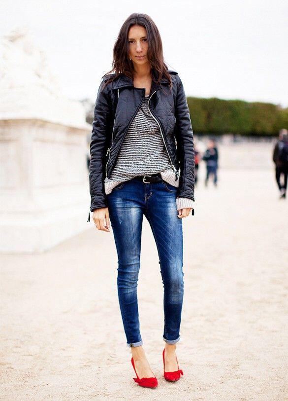 5 Ways To Wear A Leather Jacket Like A Street Style Icon