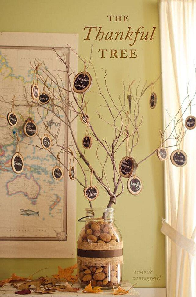 Thanksgiving Decor Ideas Part - 50: 6-great-ideas-thanksgiving-decoration2