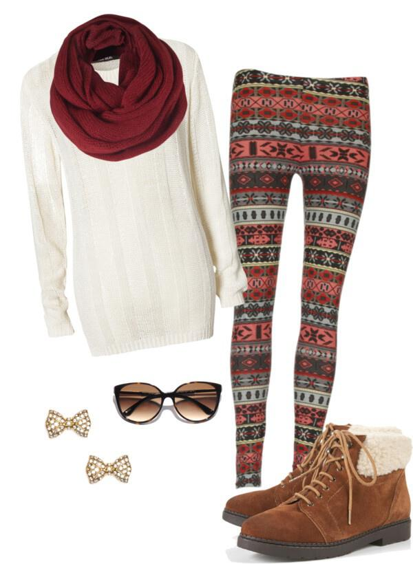 What Shoes To Wear With Tribal Print Leggings