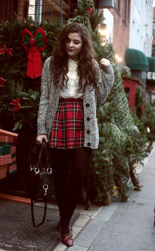 5-holiday-outfits-classy-oxfords-1 - 5 Holiday Outfits With Classy Oxfords - Stylishwomenoutfits.com