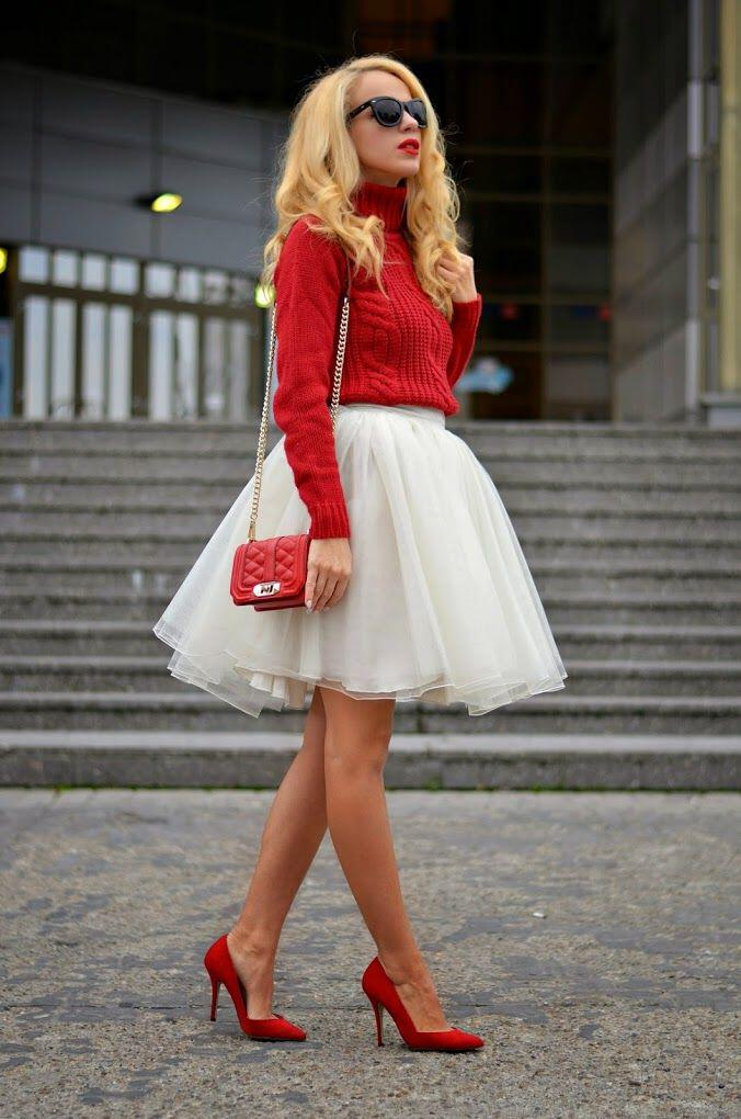 6 amazing christmas outfits with red shoes  page 3 of 6