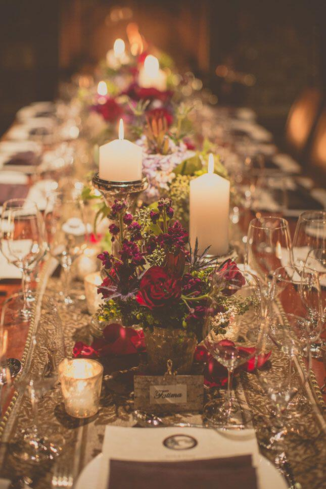6 beautiful decoration ideas christmas wedding
