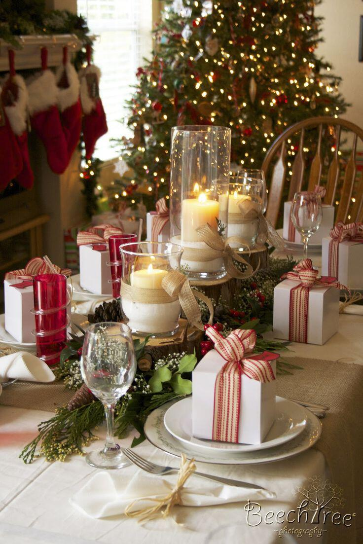 6 beautiful decorations years eve dinner party 4 - 6 beautiful decorations for the New Year's Eve dinner party