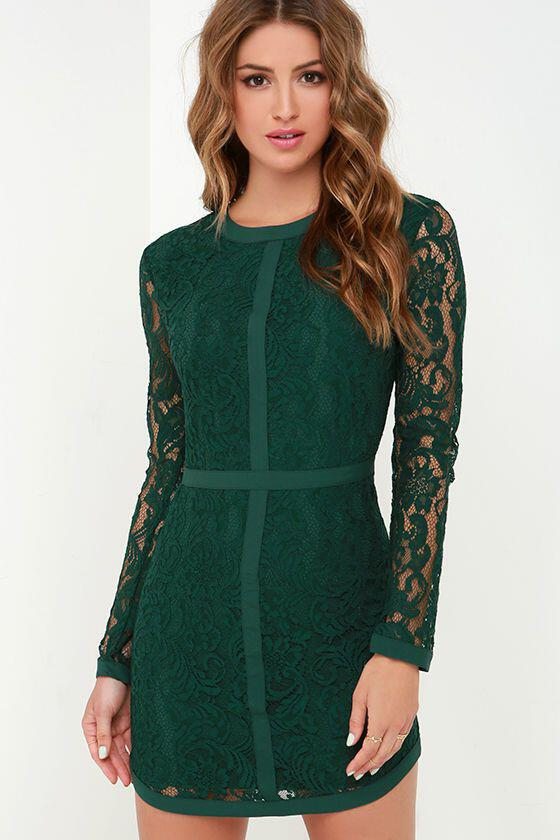 6 fabulous choices dark green christmas dresses 3 - Green Christmas Dress