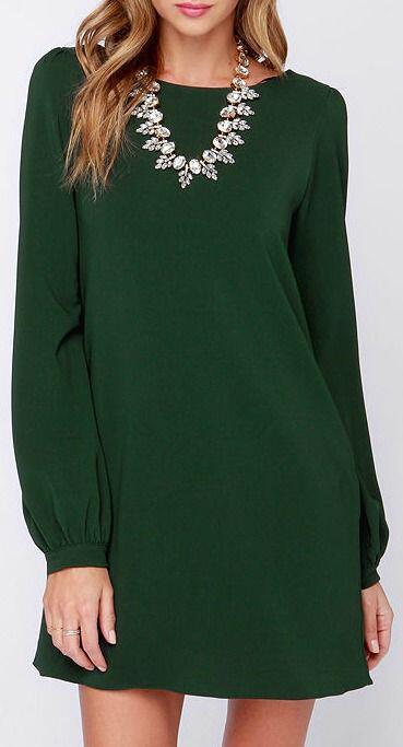 6-fabulous-choices-dark-green-christmas-dresses