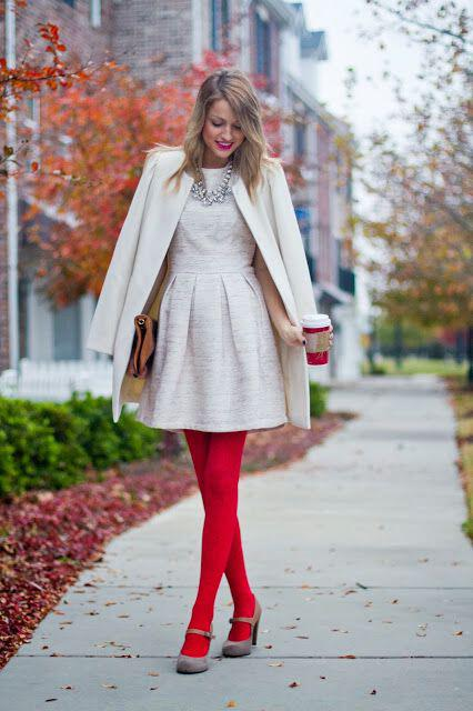 6 fashionable christmas outfits blondies 2 - 6 fashionable Christmas outfits for blondies
