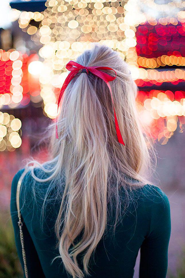 6 fun Christmas hairstyles 1