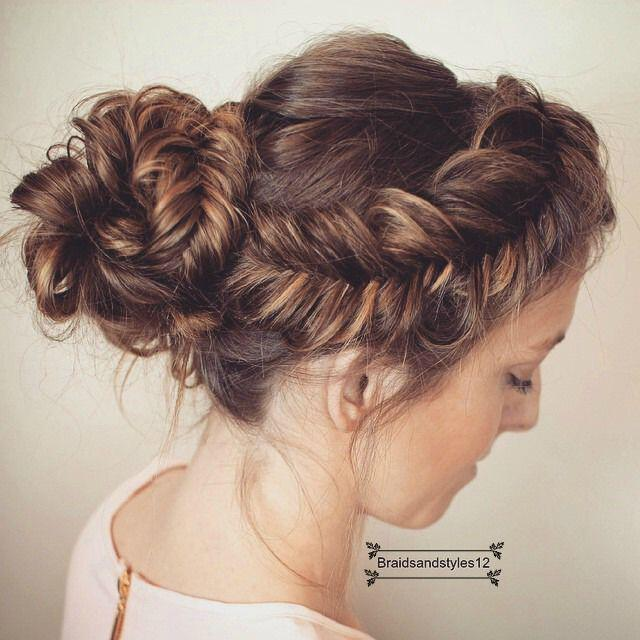6 romantic updos christmas parties - 6 romantic updos for Christmas parties you should try